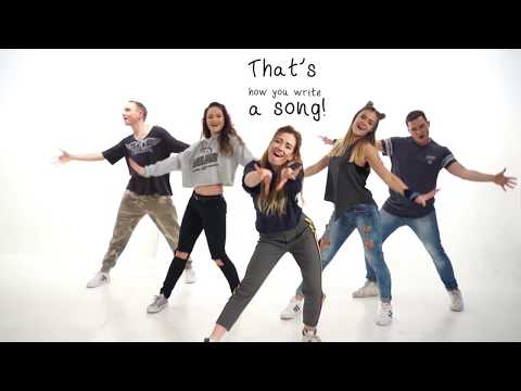 Alexander Rybak - That † s How You Write A Song, Lyrics Dance Video by Time to Show Lithuania, ESC2018