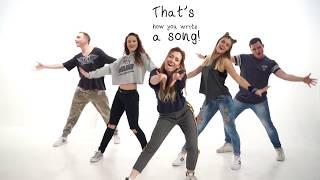 Alexander Rybak - Thats How You Write A Song, Lyrics Dance Video by Time to Show Lithuania, ESC2018