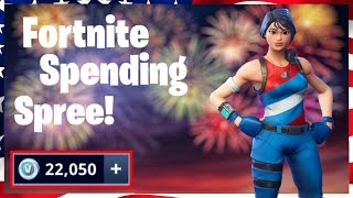 SPENDING 20 000 V-Bucks!! (Fortnite Spending Spree #2)