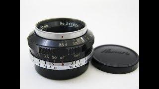 Sankyo Kōki  W-KOMURA 35mmF3.5 kōki, 検索動画 31