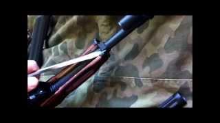 AK 47 AK 74 AKM furniture installation tutorial Combloc Customs Ironwood Designs