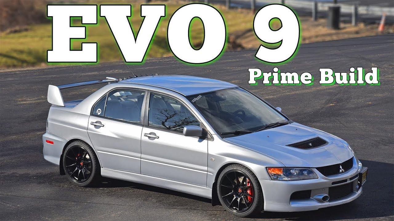 2006 Mitsubishi Lancer Evo IX MR Prime Build  Regular Car Reviews ... 434516c4d2ce