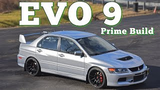 2006 Mitsubishi Lancer Evo IX MR Prime Build: Regular Car Reviews