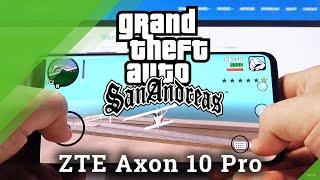 GTA San Andreas на ZTE Axon 10 Pro