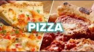Pizza 4 Ways -  Quick and Easy Homemade Pizza Recipe