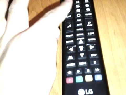 Как установить время на телевизоре lg