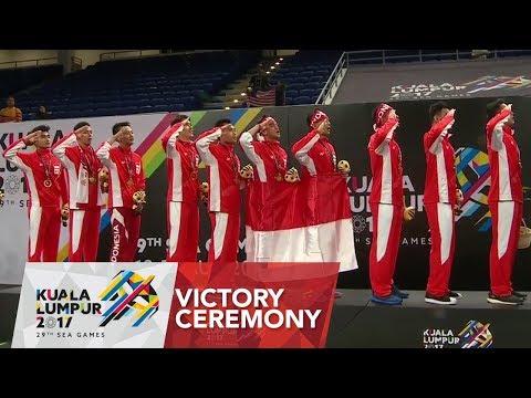 Badminton 🏸 Mens Team finals Victory Ceremony | 29th SEA Games 2017