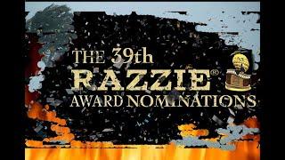 39th Razzie® Award Nominations!