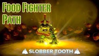 Skylanders Swap Force - Slobber Tooth - Food Fighter Path Guide