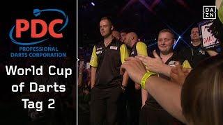 Schafft Deutschland den Sprung ins Achtelfinale? | Highlights | PDC World Cup of Darts | DAZN