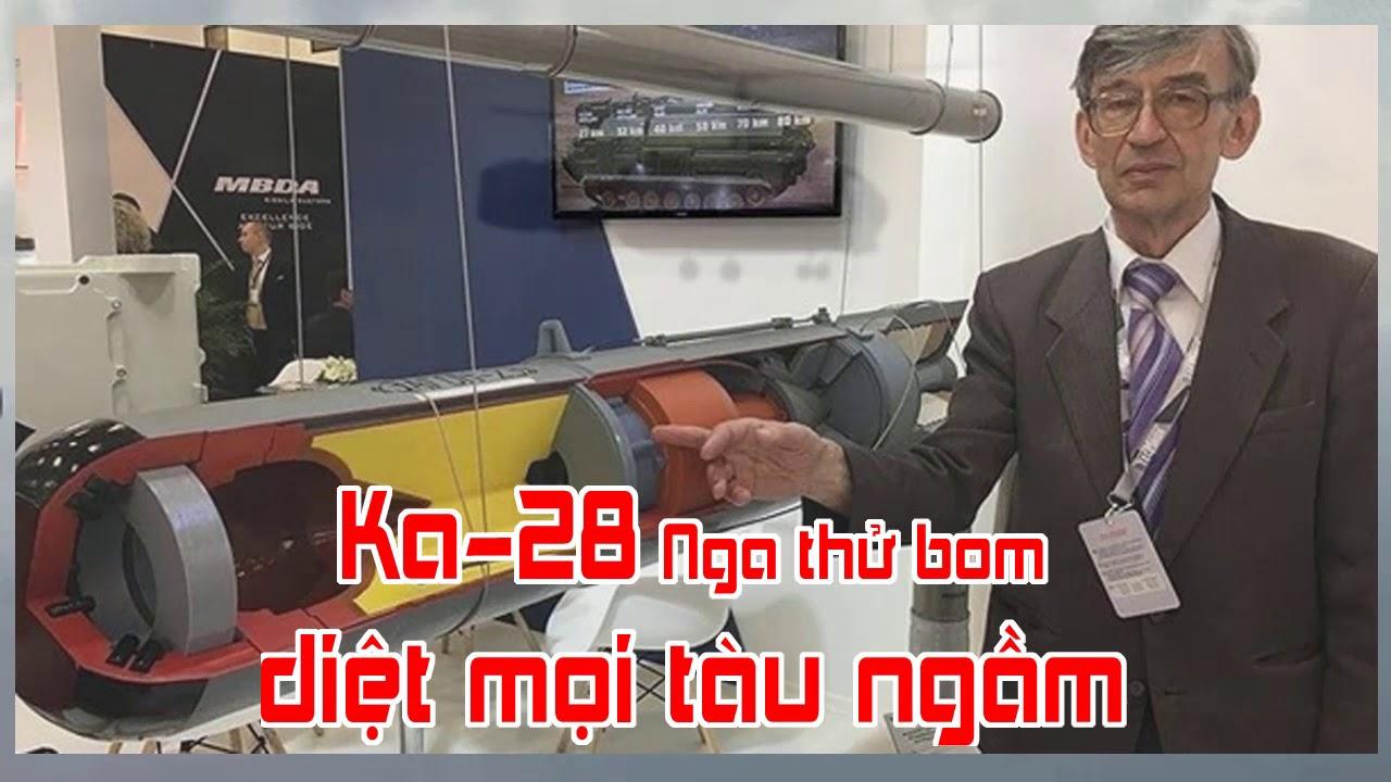 Ka 28 Nga thử bom diệt mọi tàu ngầm