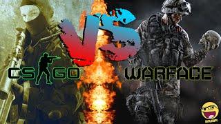 Cs:Go Vs Warface (Моё Мнение)