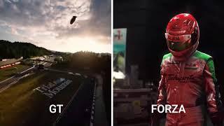 PS5 / PlayStation 5 Gran Turismo VS Xbox Series X Forza Motorsport
