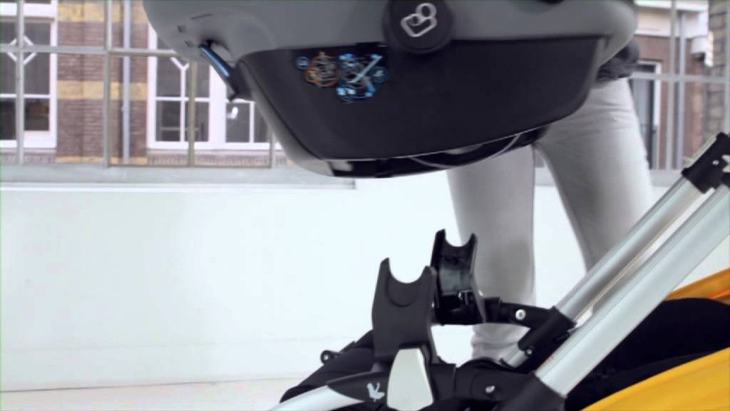 demo bugaboo bee - car seat adaptability - YouTube