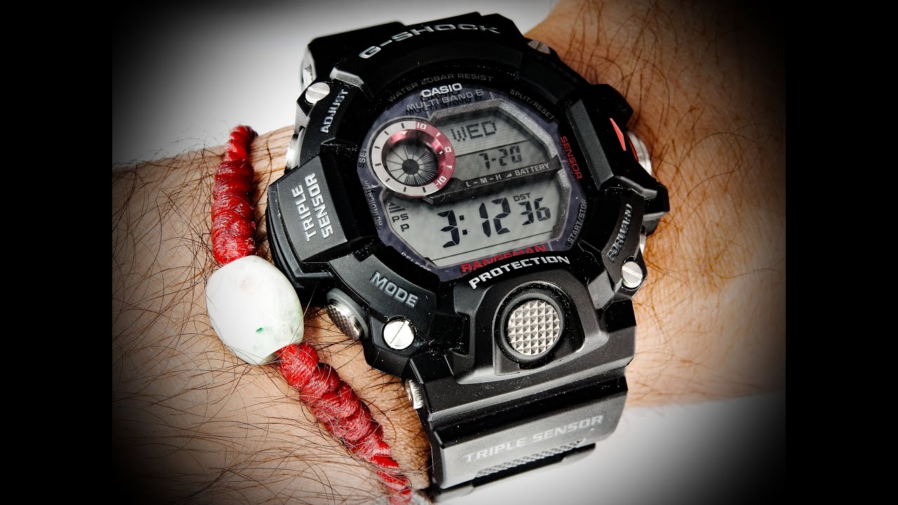 b13f8029f8d Casio G Shock Rangeman Military Watch GW9400 - YouTube