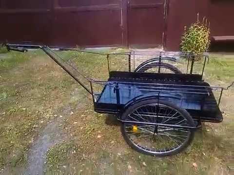 Грузовой велоприцеп