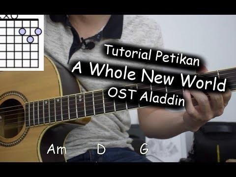 Kunci Lagu A Whole New World OST Aladdin