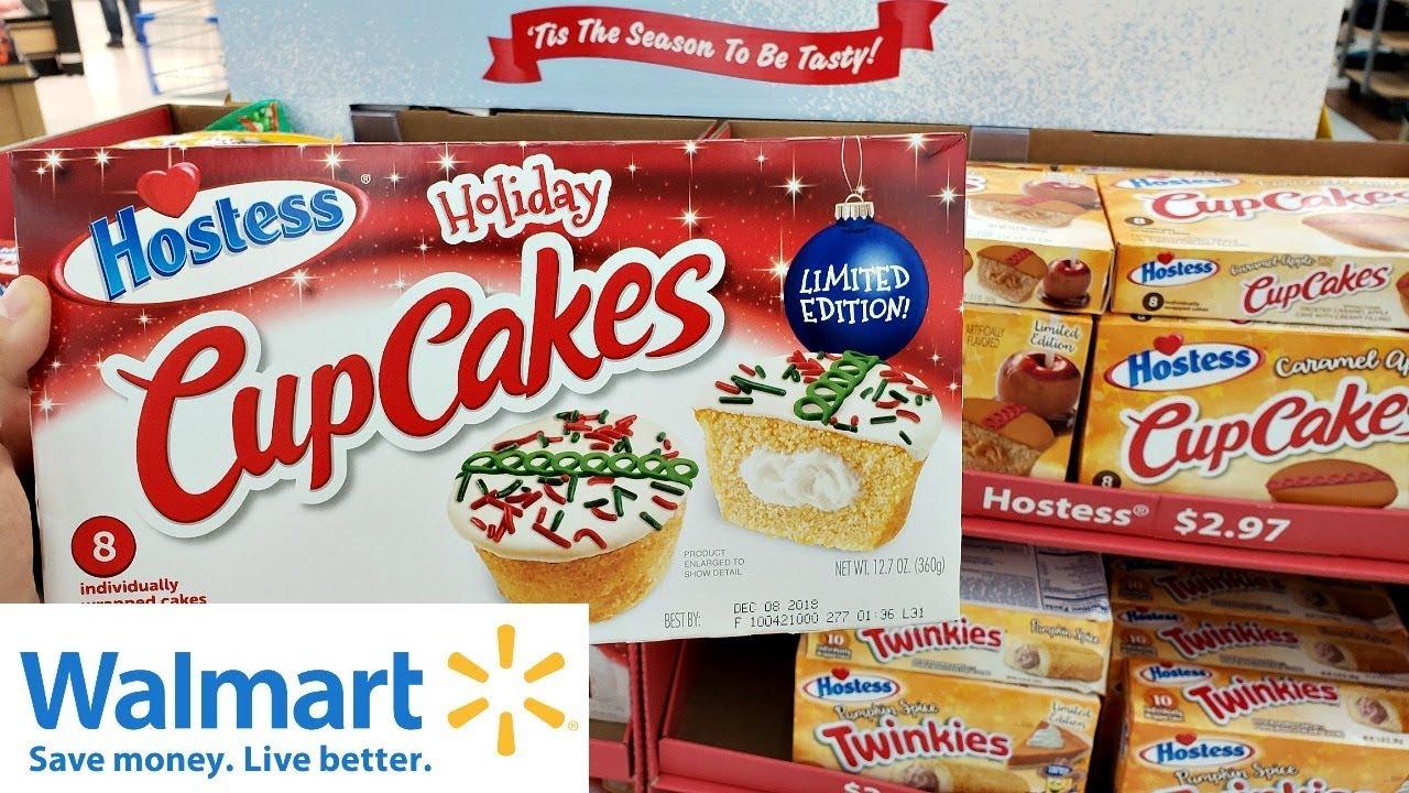 Walmart Shop With Me Christmas Food Walk Through 2018