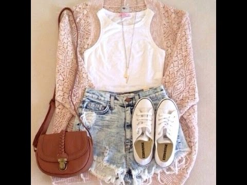 Outfits primavera tumblr - YouTube