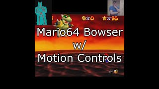 bowser beaten with motion controls