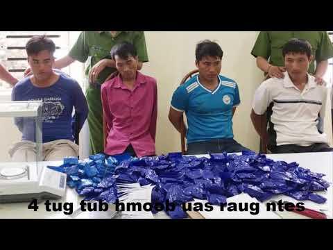 Xov Xwm | 4 Tug Hmoob Sơn La Ua Luam Yeeb Raug Ntes | Hmong News 2019