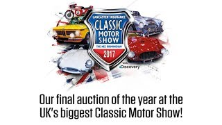 Classic Motor Show Sale Preview