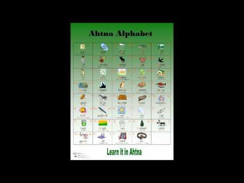 Ahtna Alphabet 4 0