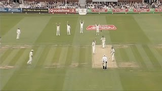 Ashes 2005 highlights - Australia beat England at Lord's