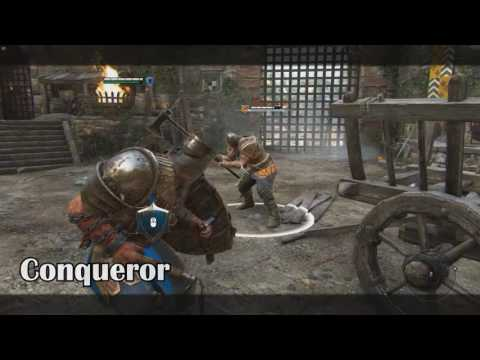 For Honor | All Knights Quotes/Voices | HD
