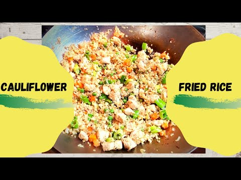 cauliflower-fried-rice-|-easy-recipe
