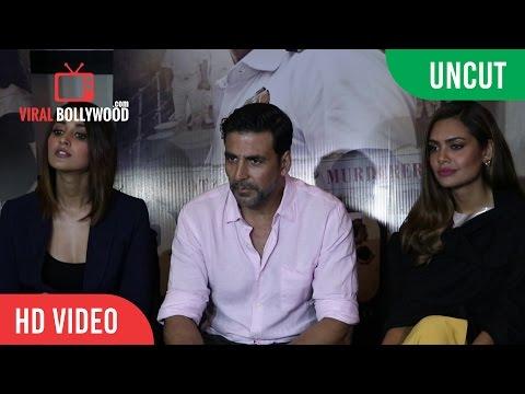 UNCUT - Rustom Full Interview   Akshay Kumar, Esha Gupta, Ileana D'Cruz