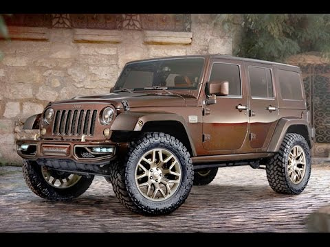 2015 Jeep Wrangler Redesign  Cooper Brown  YouTube