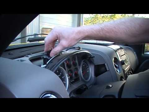 2004 Ford F150 Truck Instrument Cluster Removal Procedure by Cluster