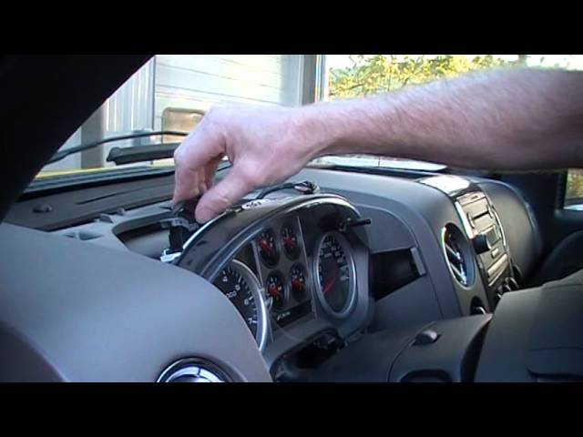 2009 2014 Ford F150 Srs Airbag Module Replacement Reset Youtube