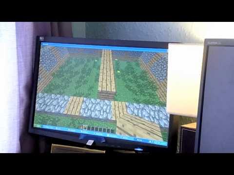 DanceCraft - Playing Minecraft with a Dance Mat