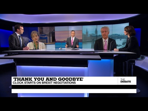'Thank you and goodbye': Clock starts on Brexit negotiations (part 2)