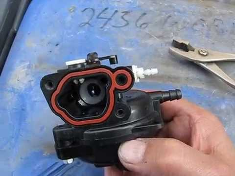 Briggs 550EX 500E Where does this white thing go? - YouTube