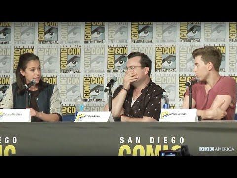 Orphan Black Clone Improv  San Diego ComicCon 2016