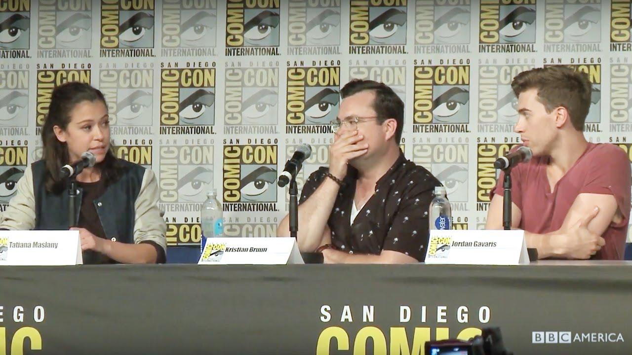 Download Orphan Black Clone Improv - San Diego Comic-Con 2016