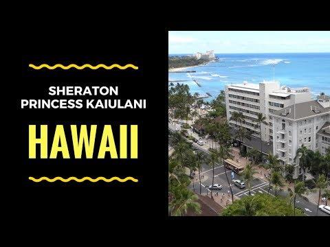 Sheraton Princess Kaiulani Hotel - Waikiki, Hawaii - High Ocean View Room - BUDGET HOTEL