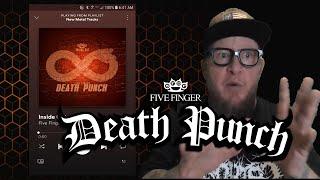 "Baixar FIVE FINGER DEATH PUNCH  ""Inside Out""  (First Listen)"