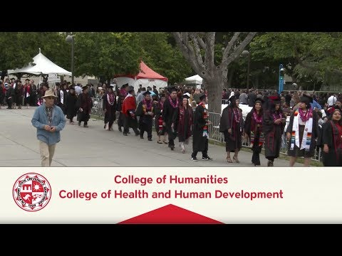 CSUN Commencement 2018: Health & Human Development I and Humanities