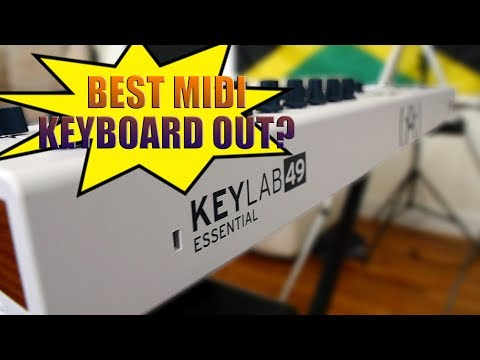 ARTURIA KEYLAB ESSENTIAL 49 REVIEW - Is this the best midi keyboard on the market?