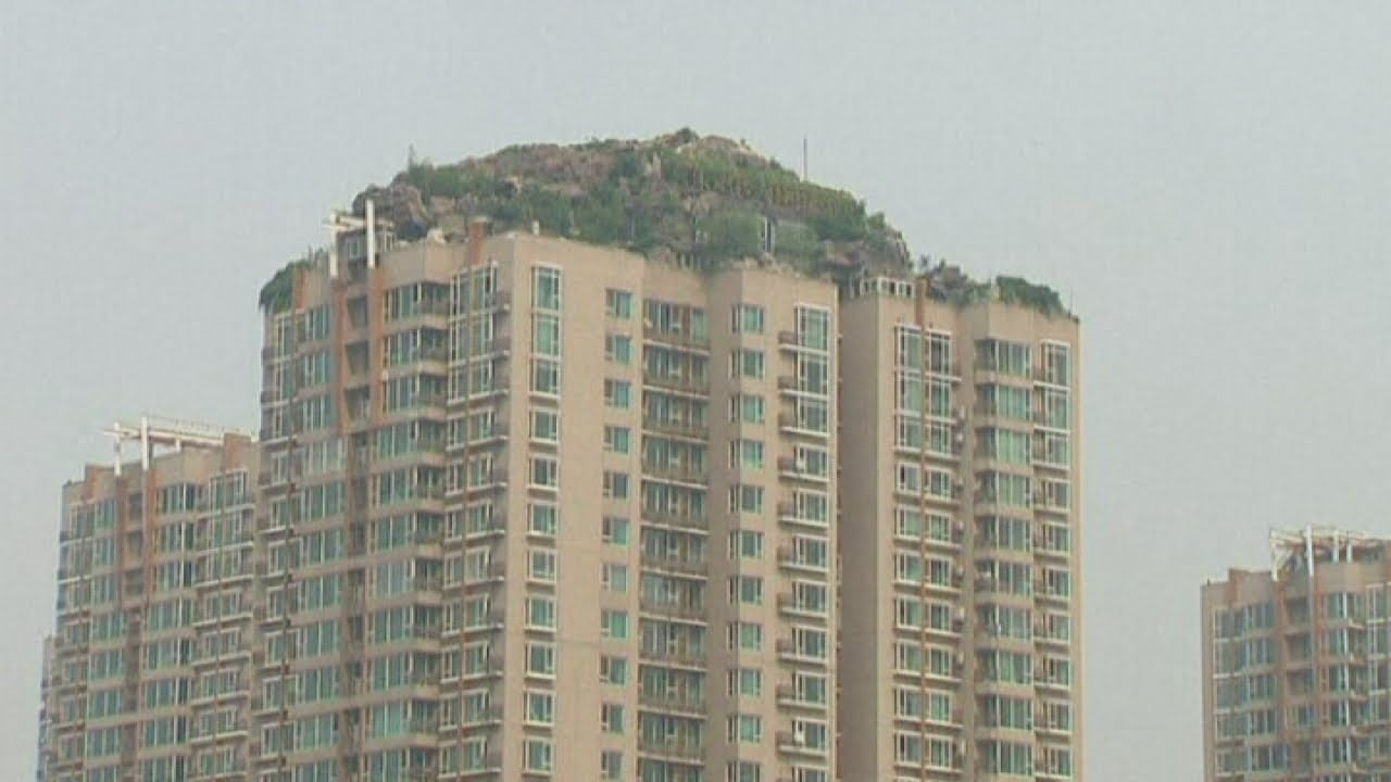 China Villa Built On Top Of A 26 Storey Apartment Building Is Demolished