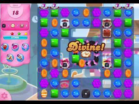 Candy Crush Saga Level 2944 NO BOOSTERS