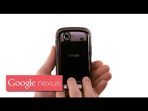 Getting to know your Nexus S: Inserting your SIM card and battery