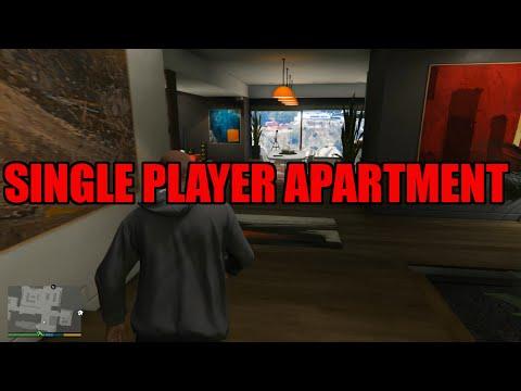 скачать мод на гта 5 single player apartment
