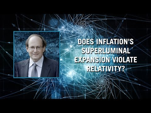 Does inflation's superluminal (faster-than-light) expansion violate relativity?