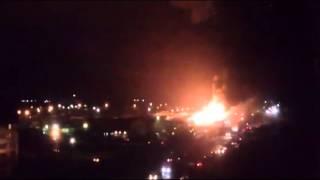 Взрив на газстанция