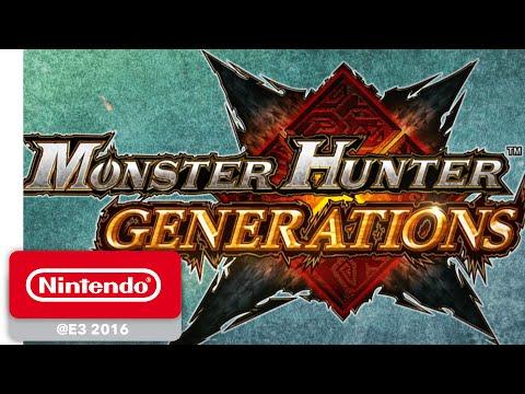 Monster Hunter Generations - Deviant Monsters Game Trailer - Nintendo E3 2016